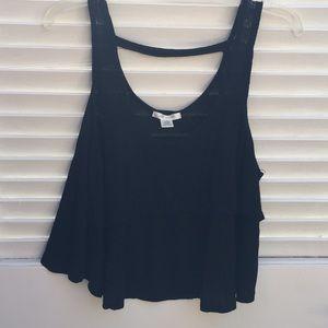 Black Crop Top style Camisole